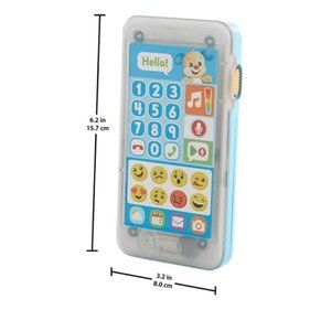 Fisher Price Laugh & Learn Blue Smartphone Toy NEW
